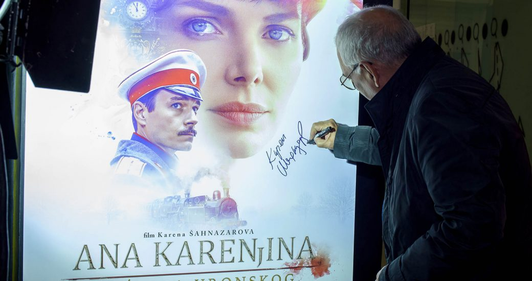 "KAREN ŠAHNAZAROV I ""ANA KARENJINA, SEĆANJA VRONSKOG"" ODUŠEVILI NA PREMIJERI"