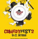 DRUGI COMEDY FEST od 18. do 22. OKTOBRA